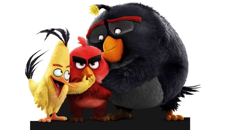 The Angry Birds Movie (2016) Hindi Dubbed BRRip Full Movie