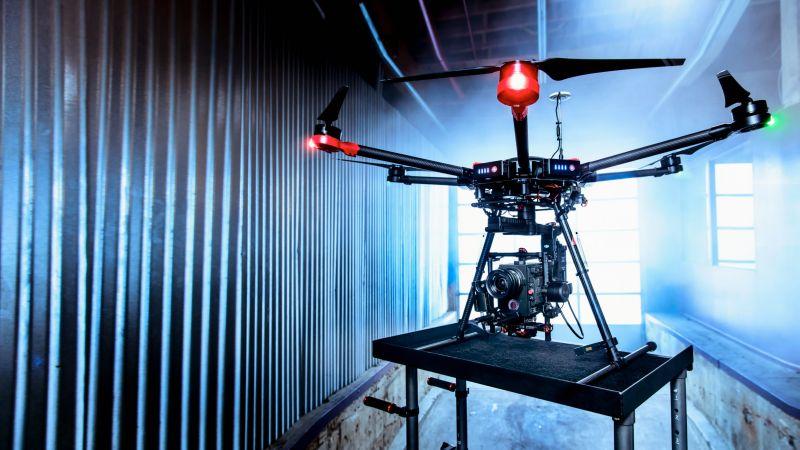 Матрис 600, дрон, квадрокоптер, камера, обзор (horizontal)