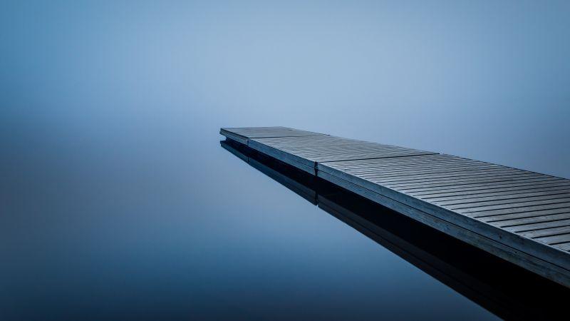 Пристань, отражение (horizontal)