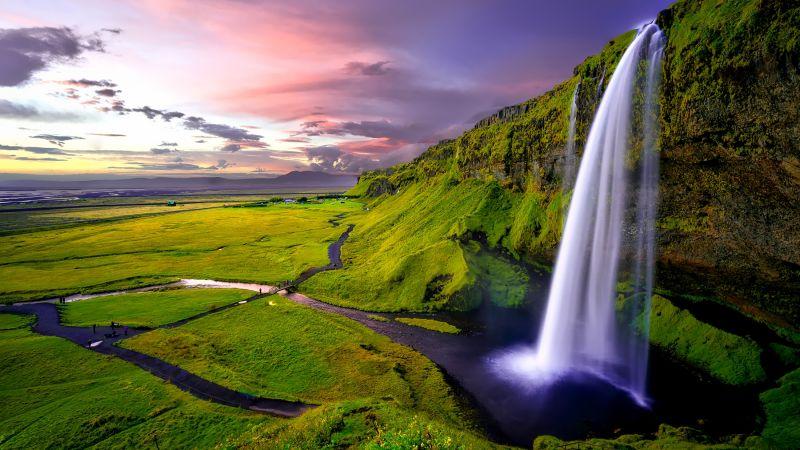 водопад (horizontal)