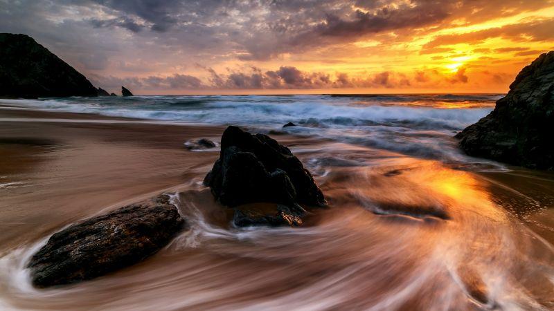 Восход, океан (horizontal)