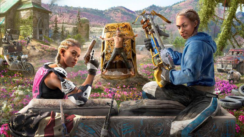 Обои Far Cry New Dawn, Poster, HD, Игры #21004