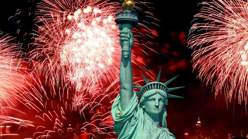 История американский новый год