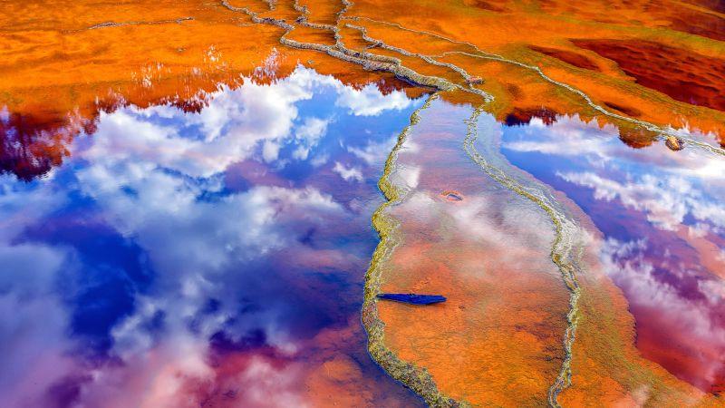 вода, поверхность, отражение (horizontal)