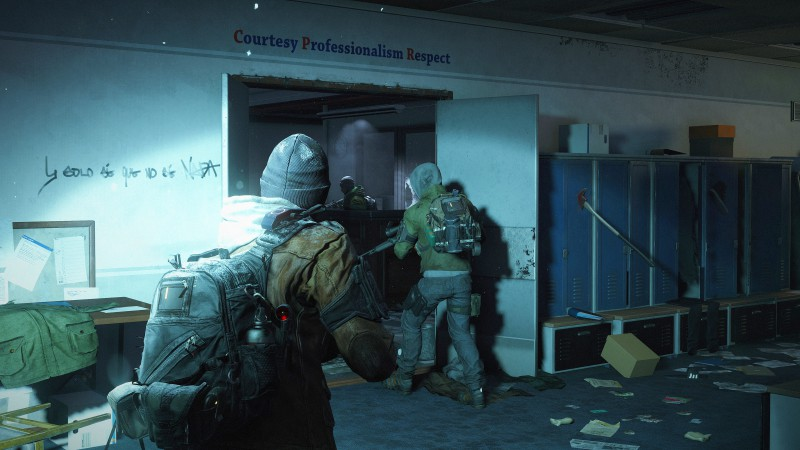 Tom Clancy's, The Division, апокалипсис, скриншот, ps4, xbox one, PC, оружие, руины, город, 2015 (horizontal)