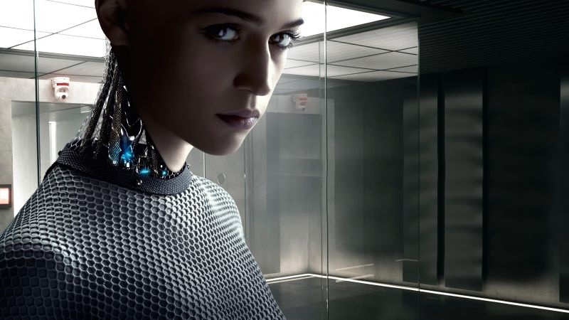 Ex Machina 2015 English Movie 275MB BRRip 480P ESubs