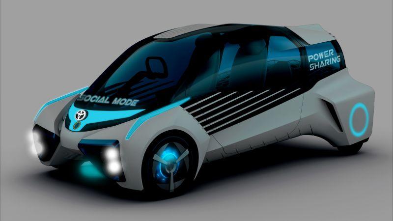 Машины на водороде видео