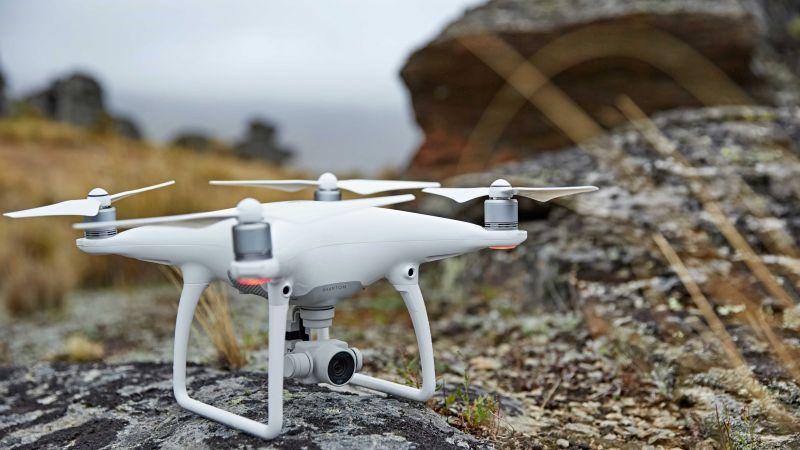 Фантом 4, дрон, квадрокоптер, камера, обзор (horizontal)