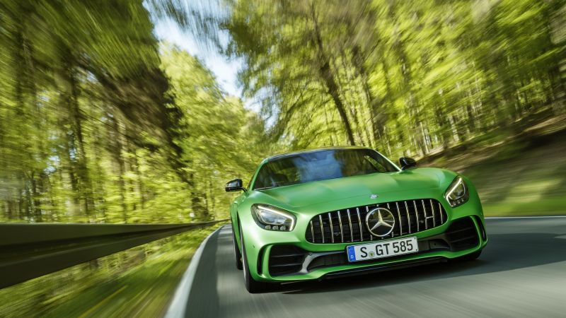 Mercedes-AMG GT R, Мерседес, зеленый, АМГ, ГТР, Goodwood Festival of Speed 2016