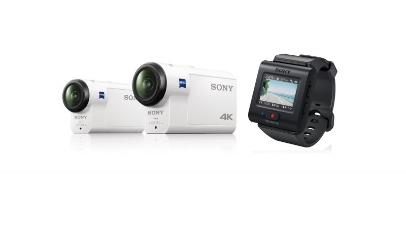 Sony HDR-AS300, FDR-X3000, обзор, IFA 2016, 4k (horizontal)