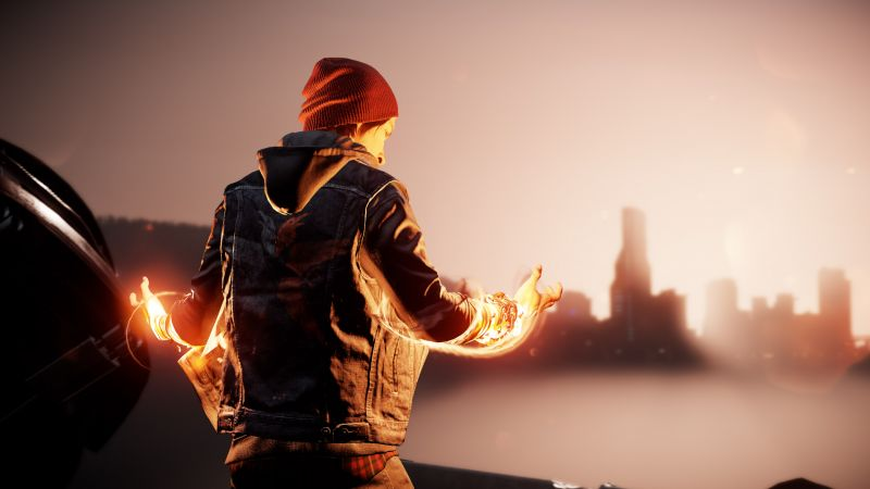 Infamous: Second Son, First Light, ПС4 про. плейстешн 4 про