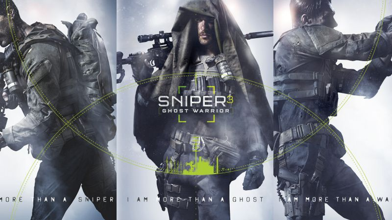 Sniper: Ghost Warrior 3, снайпер 3, шутер (horizontal)