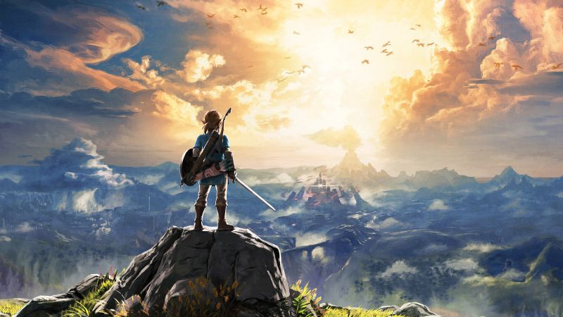 легенда зельды, The Legend of Zelda: Breath of the Wild, монстр, лучшие игры (horizontal)