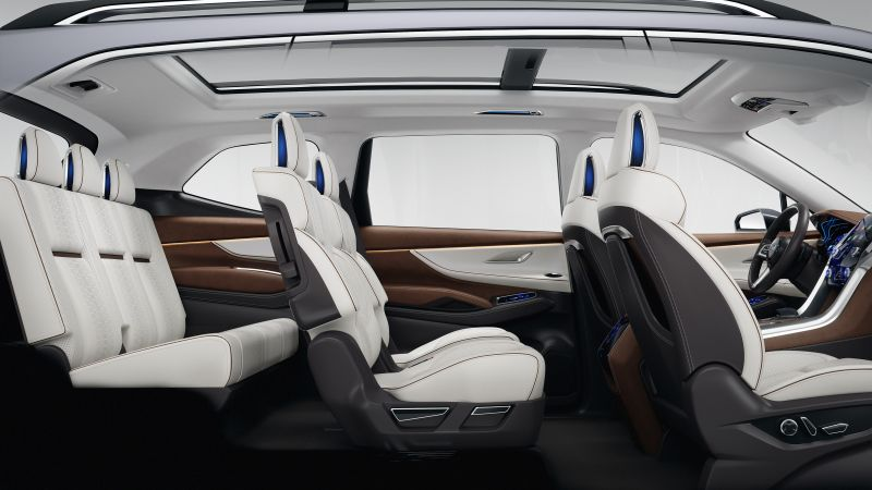 Subaru Ascent, концепт, салон, 2017 Нью-Йоркский Автосалон (horizontal)