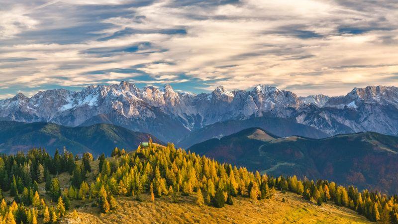 Альпы, Швейцария, горы (horizontal)