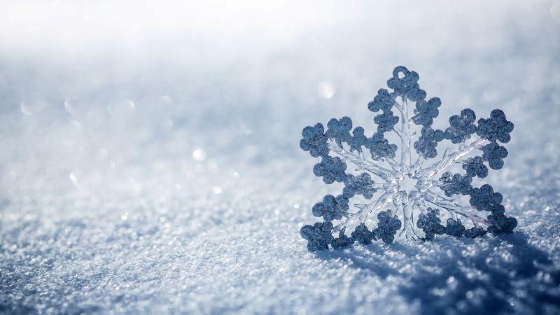 снег (horizontal)