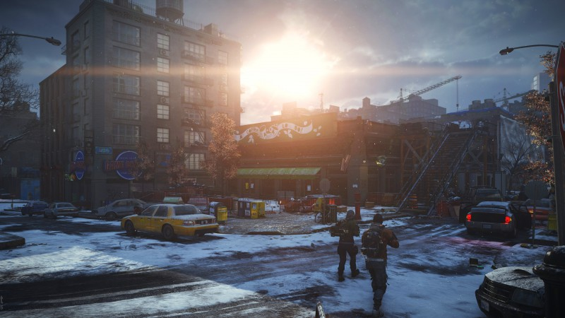 Tom Clancy's, The Division, апокалипсис, скриншот, ps4, xbox one, PC, оружие, руины, город, 2015