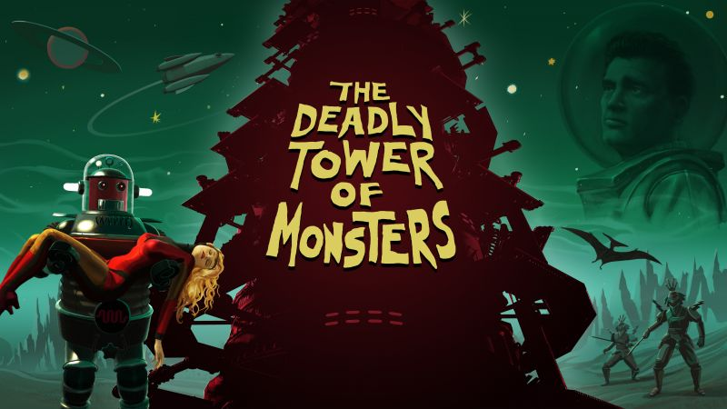 The Deadly Tower of Monsters, Лучшие игры 2015, игра, фантастика, ПК, PS4 (horizontal)