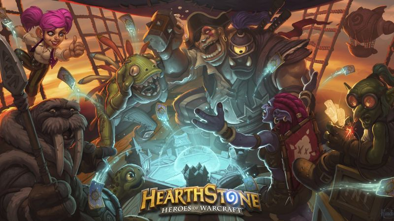 HearthStone: Heroes of Warcraft — The Grand Tournament, Лучшие игры 2015, игра, фентези, ПК, Apple, Android (horizontal)