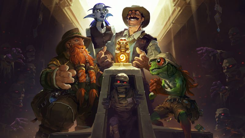 HearthStone — League of Explorers, Лучшие игры, фентези, игра, ПК, PC, Apple, Android (horizontal)