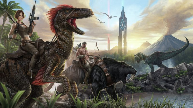 ARK: Survival Evolved, GDC Awards 2016, ПК, Икс Бокс 1 (horizontal)