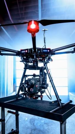 Матрис 600, дрон, квадрокоптер, камера, обзор (vertical)