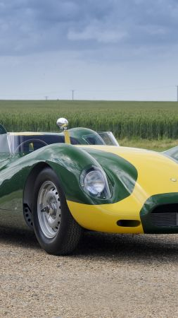 Lister Knobbly Stirling Moss Edition, Листер Нобби, спорткар, суперкар (vertical)