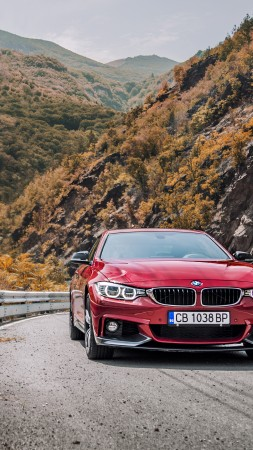 БМВ 440ай, Bmw 440i, red edition, красный, купе (vertical)