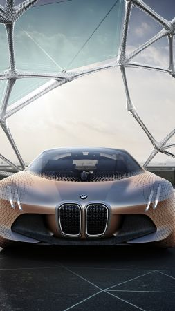 BMW VISION NEXT 100, HD, концепт, электромобиль (vertical)