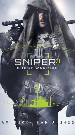 Sniper: Ghost Warrior 3, снайпер 3, шутер (vertical)
