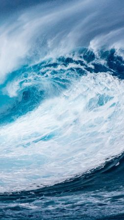 волна, океан (vertical)