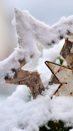 Рождество, новый год, зима, снег (vertical)