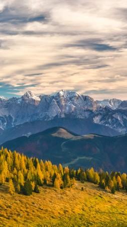 Альпы, Швейцария, горы (vertical)