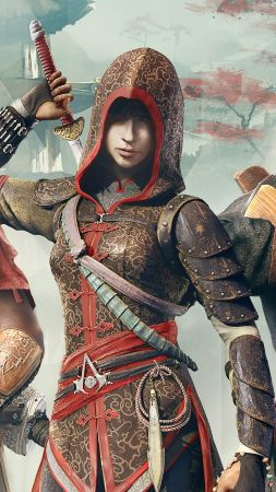 Assassin's Creed Chronicles Trilogy, Лучшие игры, игра, аркада, фантастика, Китай, ПК, PC, PS4, Xbox One (vertical)