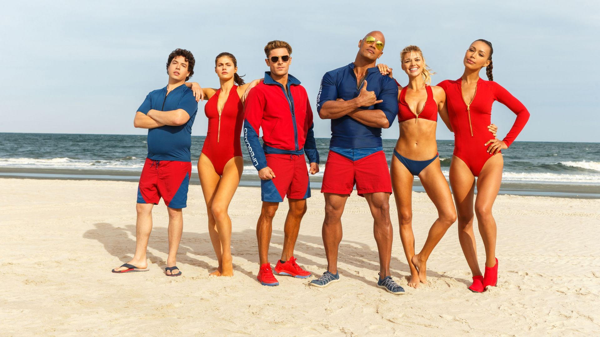 Спасатели Малибу, Зак Эфрон, Приянка Чопра, Дуэйн Джонсон, Baywatch, Dwayne Johnson, Zac Efron, Alexandra Daddario, best movies (horizontal)