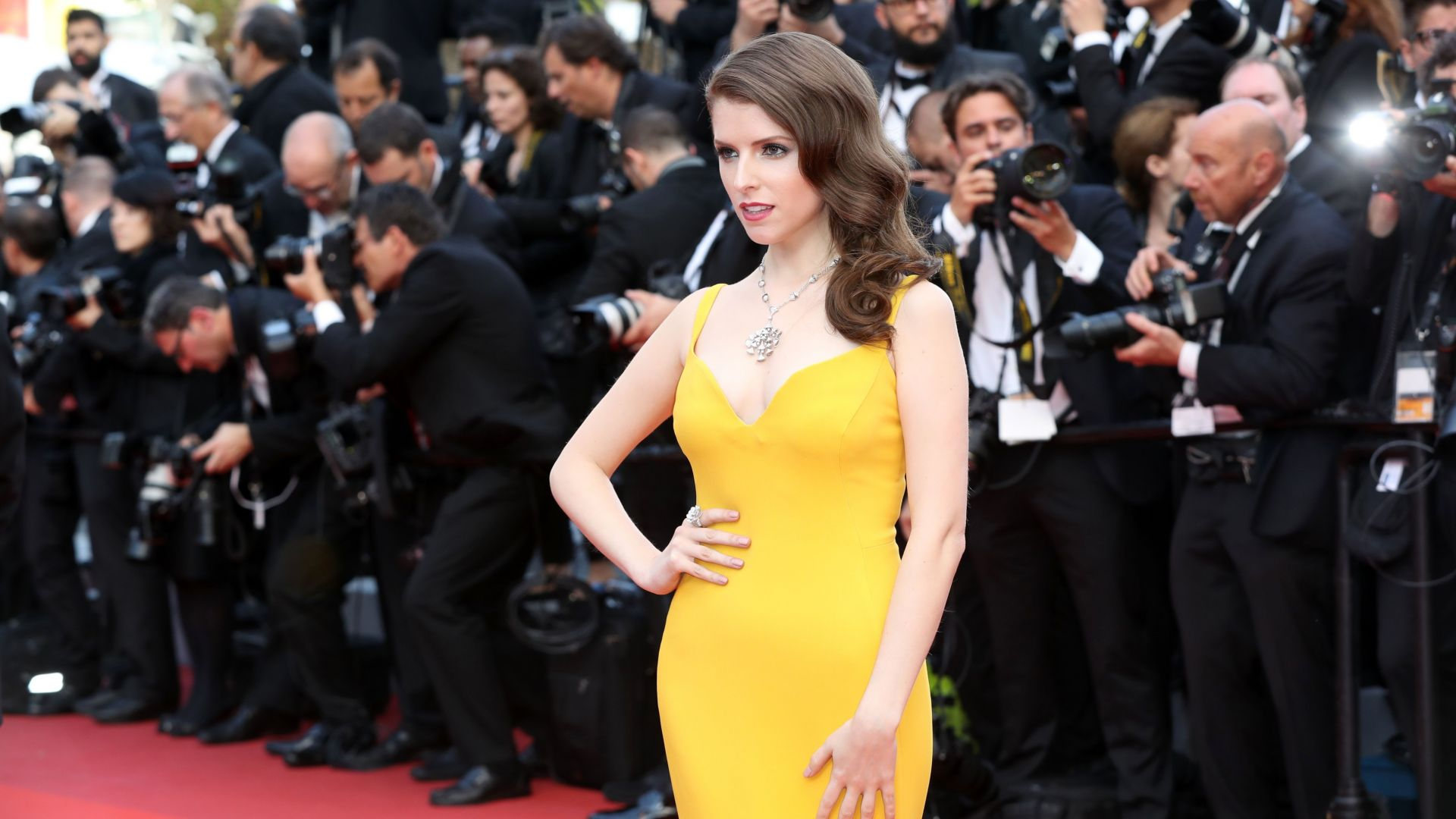 Анна Кендрик, Каннский кинофестиваль 2016, красная дорожка, Anna Kendrick, Cannes Film Festival 2016, Most popular celebs (horizontal)