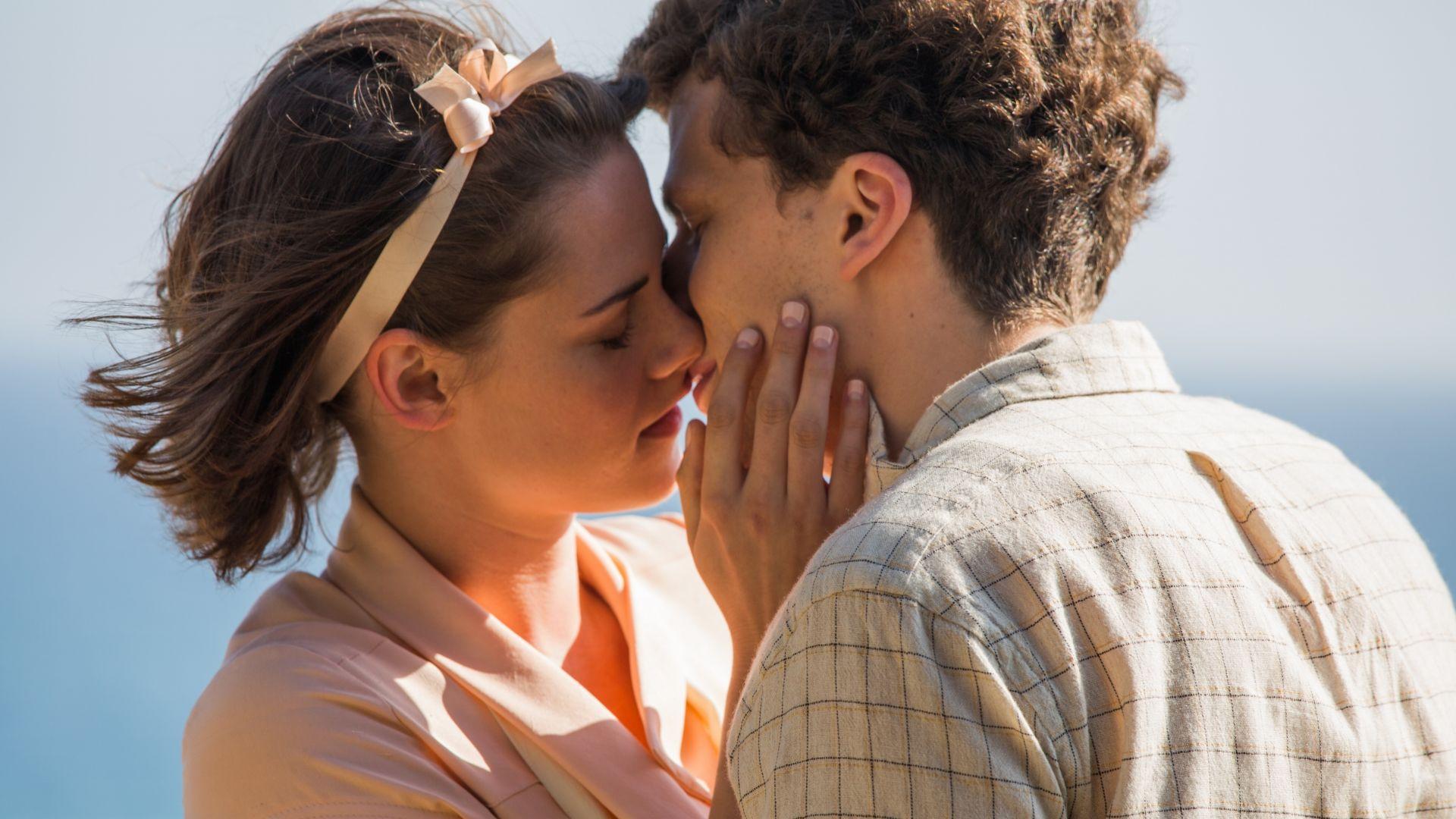 эффект сияния, фотография поцелуй жизни эти молодые