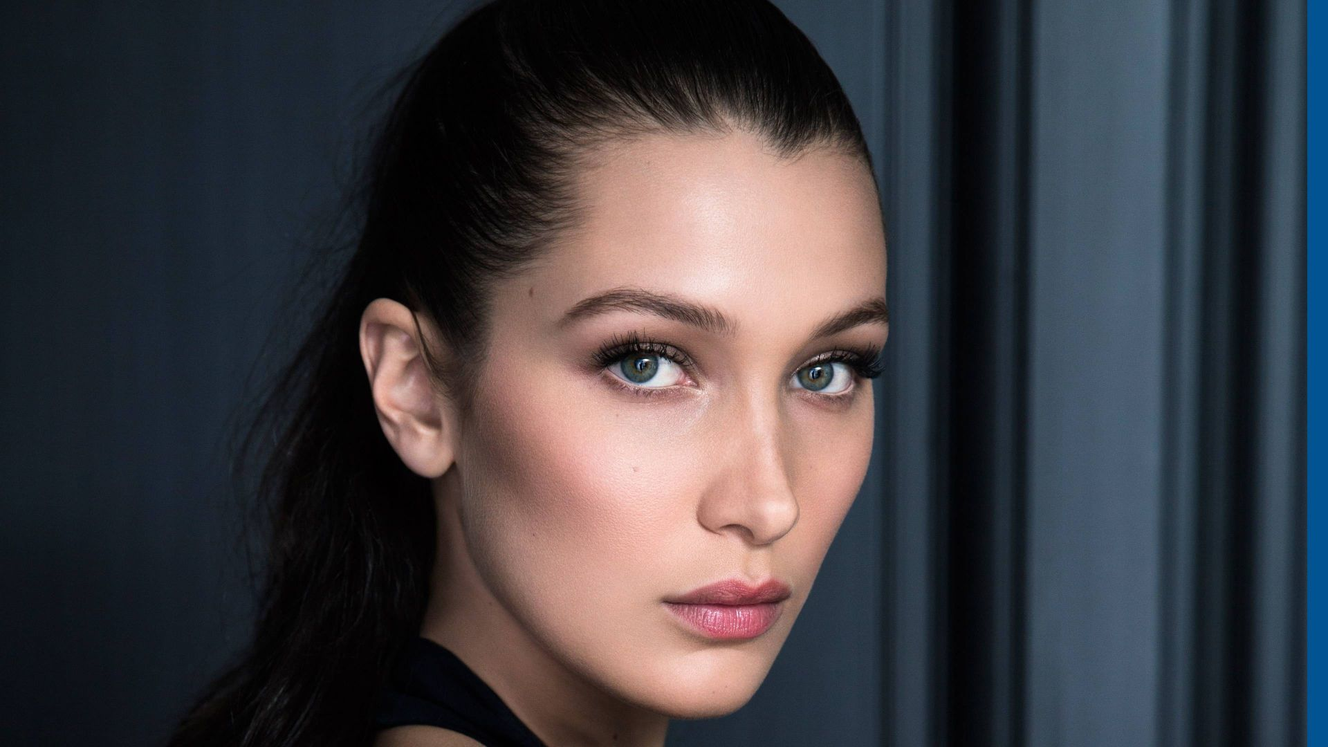 Белла Хадид, лицо, модель, Bella Hadid, face, Most popular celebs, actress, model (horizontal)