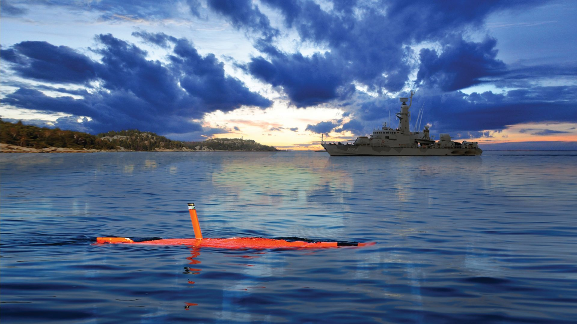 Saab AUV62-AT, дрон, подводная лодка, Unmanned Warrior 2016, Армия Швеции, ВМС Швеции, Saab AUV62-AT, drone, submarine, Unmanned Warrior 2016, Swedish Navy, Swedish Army (horizontal)