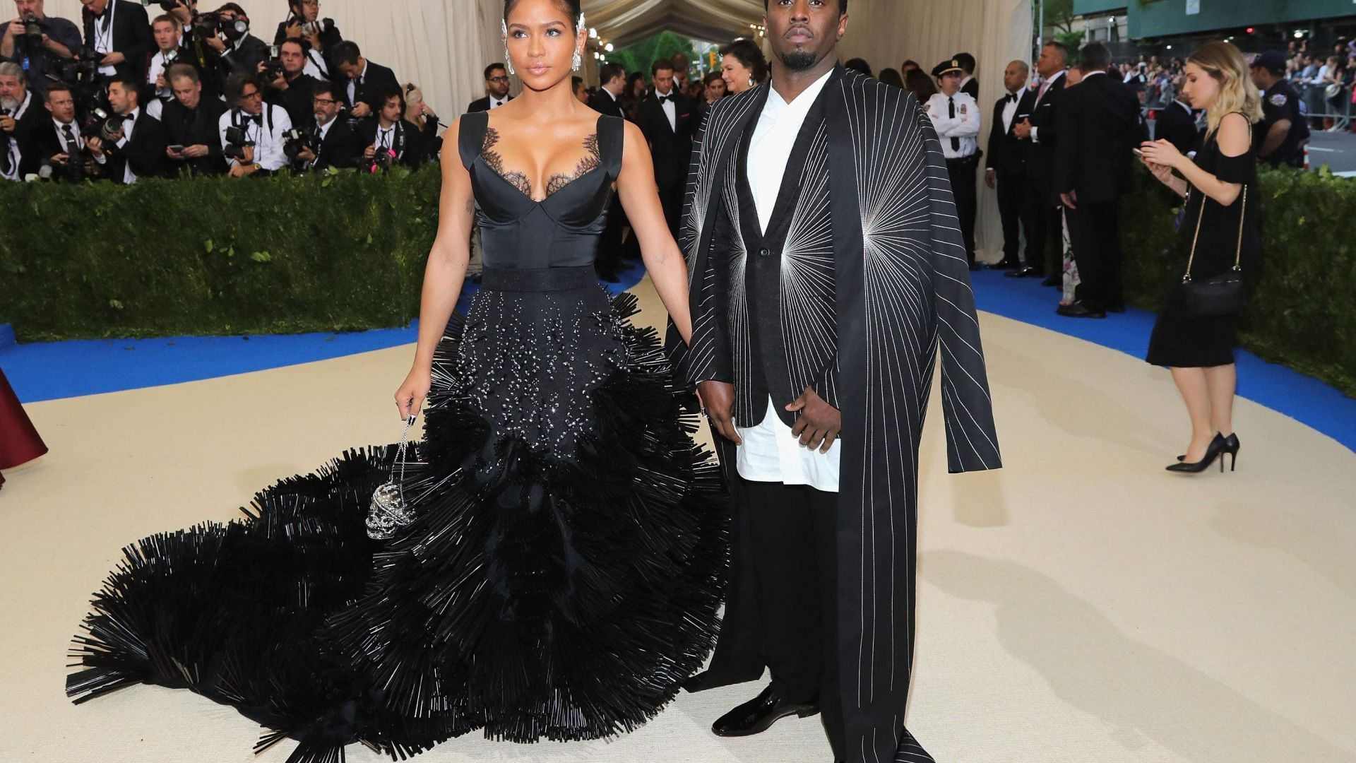Пи Дидди, Met Gala 2017, костюм, красная дорожка, P Diddy, Met Gala 2017, dress, red carpet (horizontal)