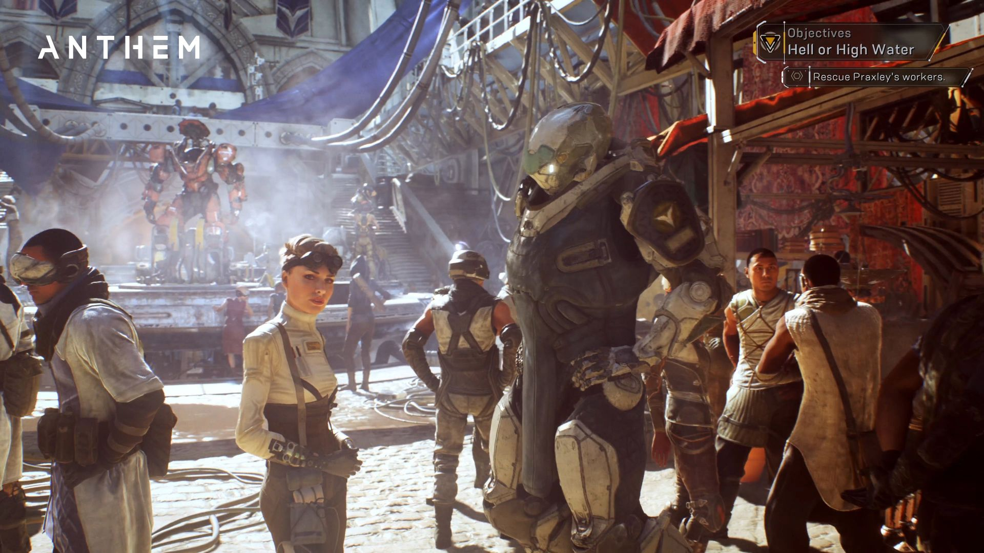 Антем, Anthem, 4k, screenshot, gameplay, E3 2017 (horizontal)