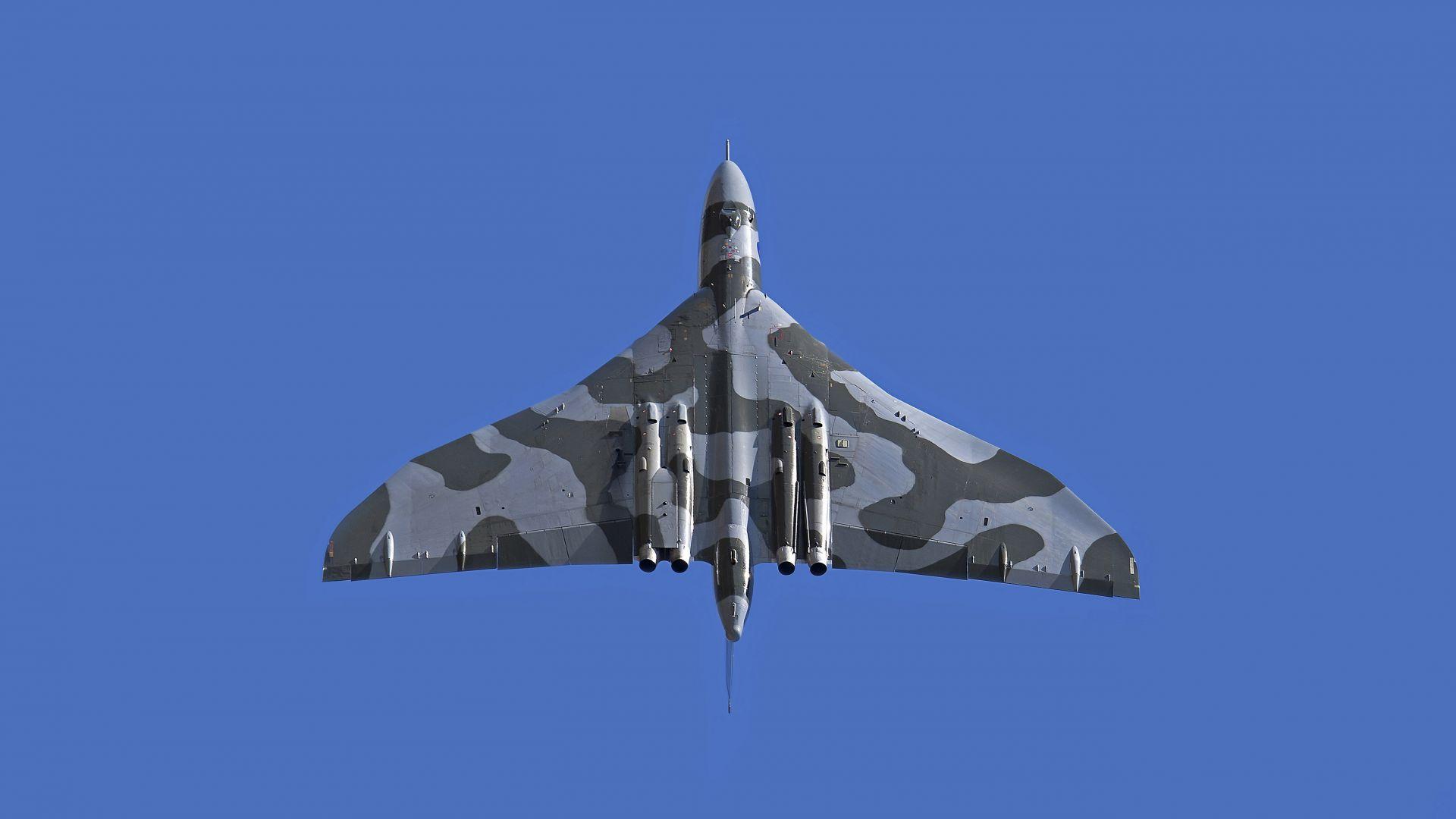 Обои Vulcan, Самолёт, bomber. Авиация foto 13