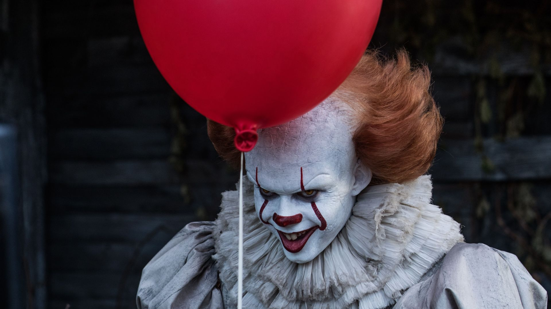 Оно, It, Bill Skarsgard, Scary Clown, 5k (horizontal)