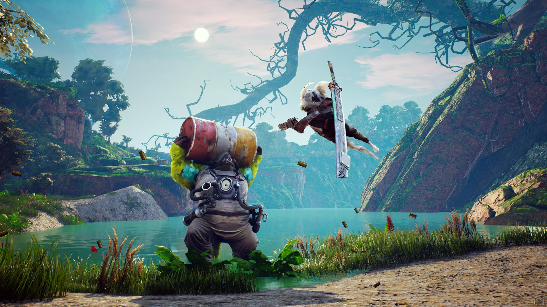 Биомутант, Biomutant, screenshot, 4k (horizontal)