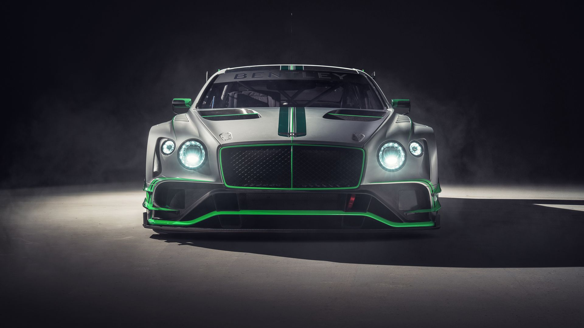 Бентли, Bentley Continental GT3, 2018 Cars, 4k (horizontal)