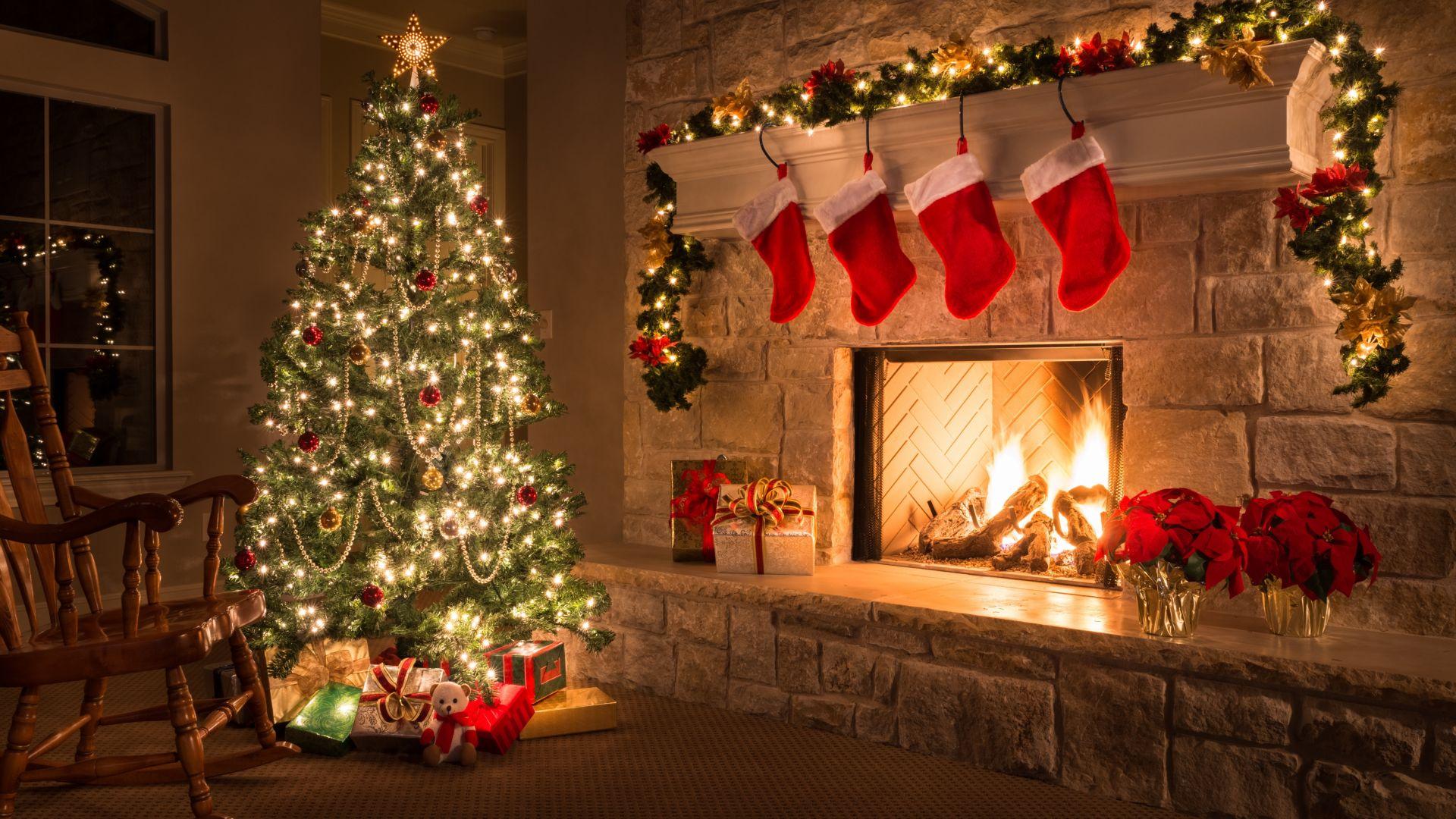 рождественское фото на рабочий стол общего анализа