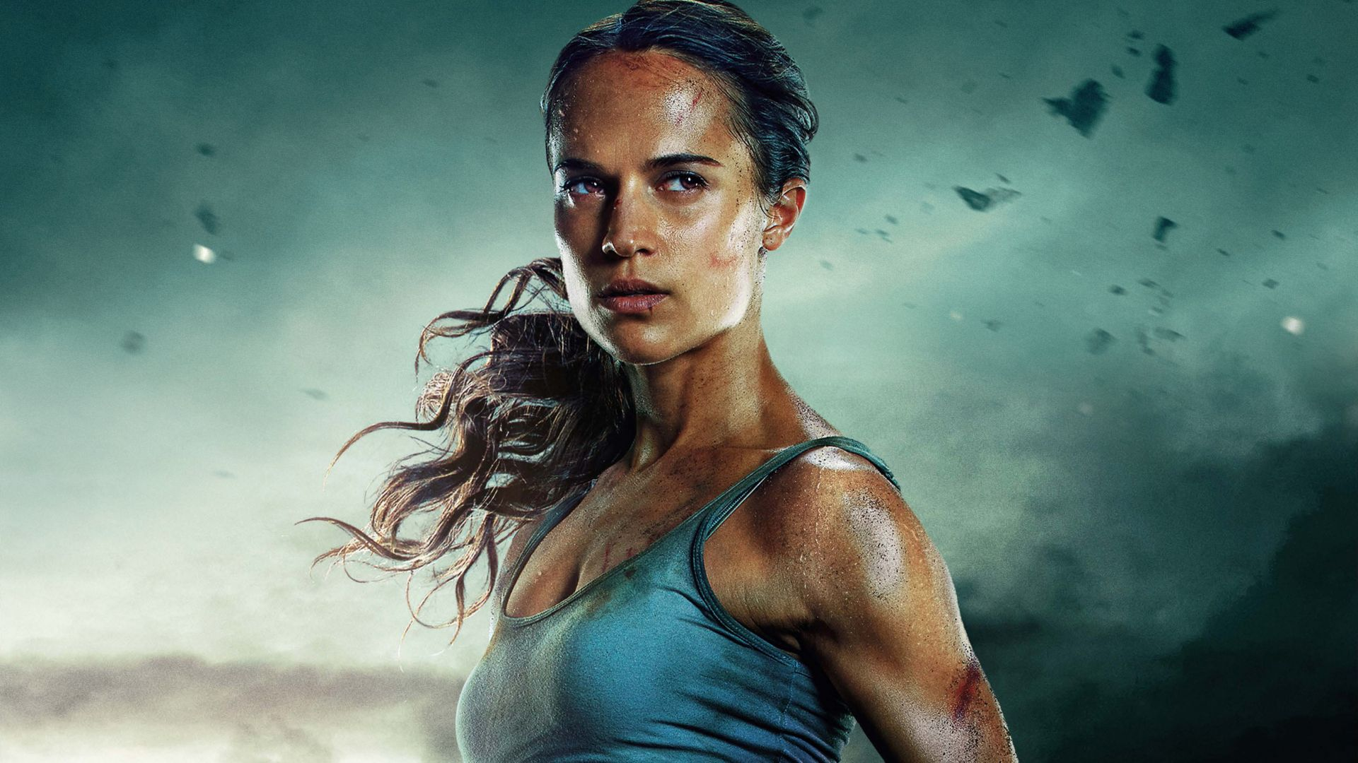 Лара Крофт, Lara Croft, Tomb Raider, Alicia Vikander, 5k (horizontal)