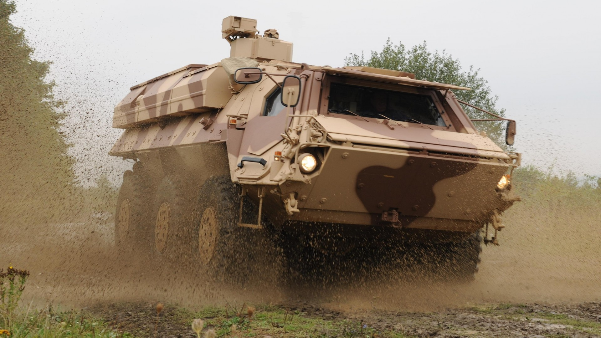 БТР, Лиса, Бундесвер, TPz, Fuchs, Fox, 1A3, armoured personnel carrier, APC, Bundeswehr, M93A1 (horizontal)