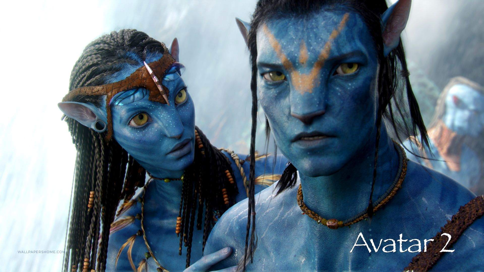 Аватар 2, Avatar 2, poster, 4k (horizontal)