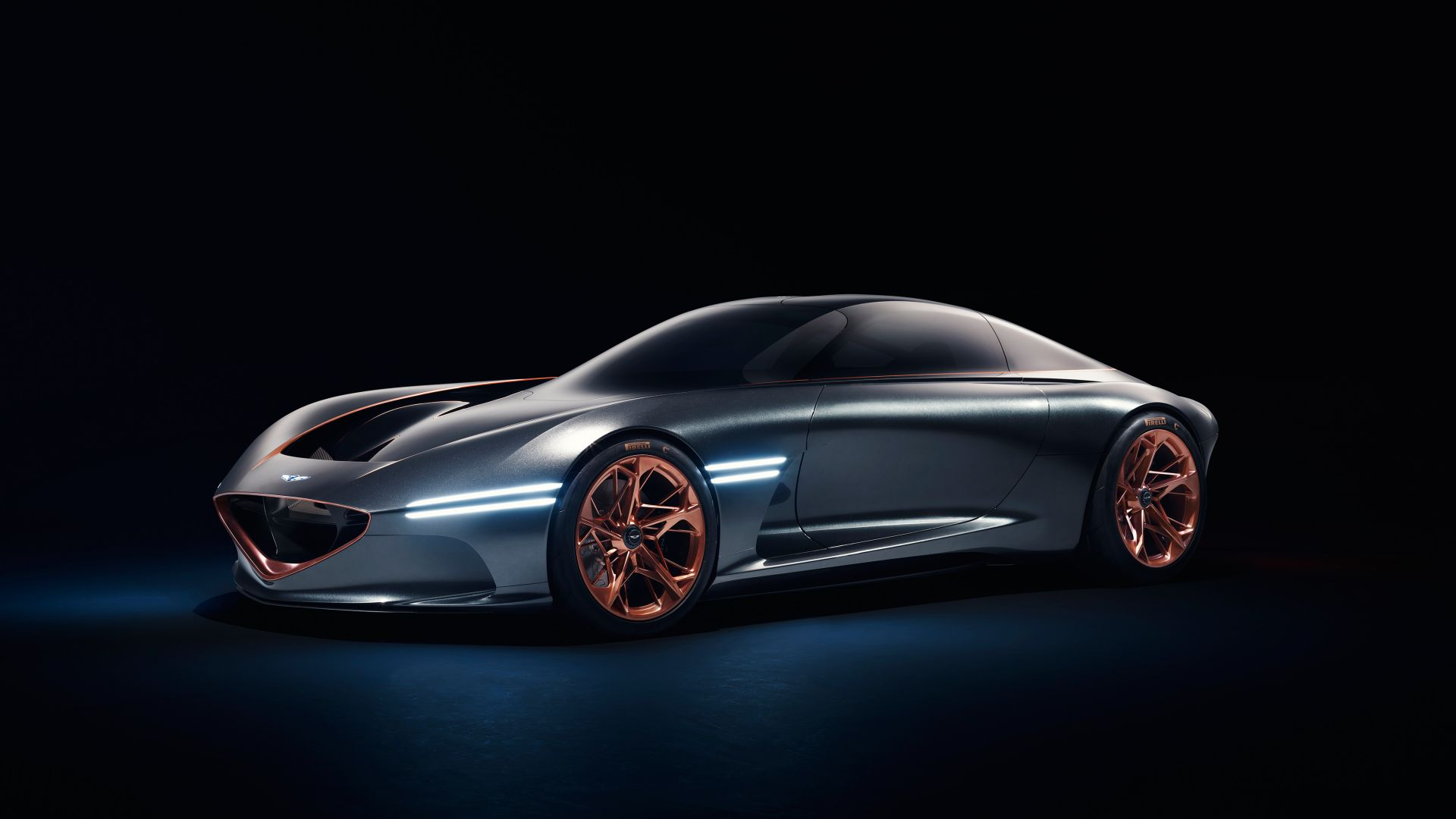 Концепт, Genesis Essentia, sport car, electric cars, Concept, 4k (horizontal)